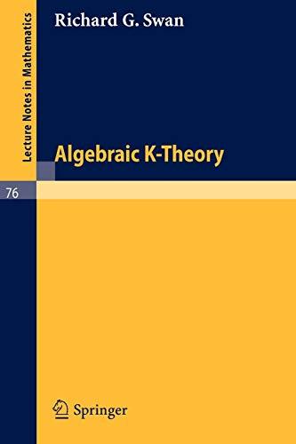 ALGEBRAIC K-THEORY: Swan, R. G.