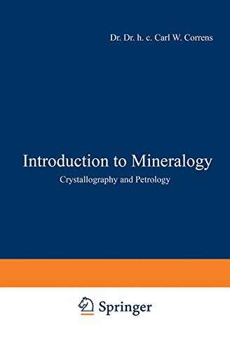 9783540044437: Introduction to Mineralogy: Crystallography and Petrology
