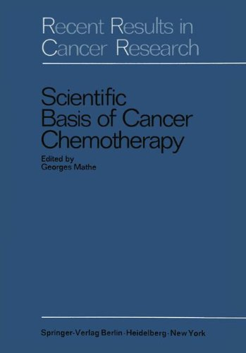 9783540046837: Scientific Basis of Cancer Chemotherapy (Recent Results in Cancer Research)