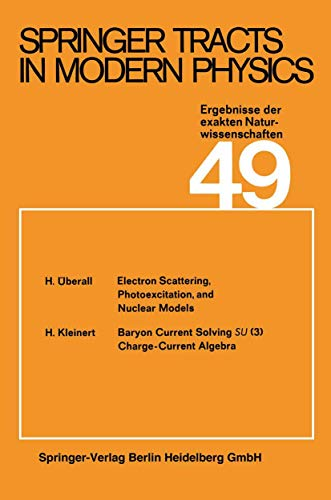 9783540047124: Springer Tracts in Modern Physics