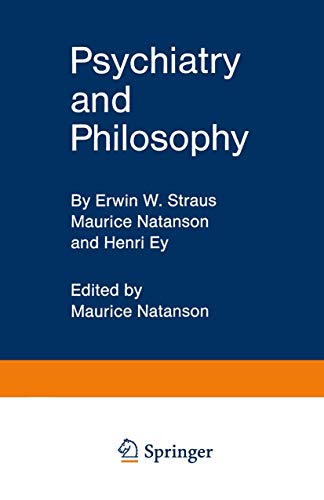 9783540047261: Psychiatry and Philosophy