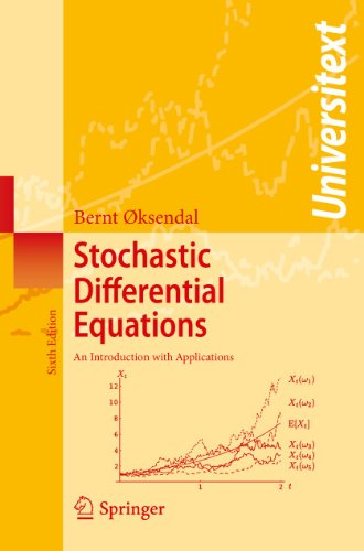 9783540047582: Stochastic Differential Equations: An Introduction with Applications (Universitext)