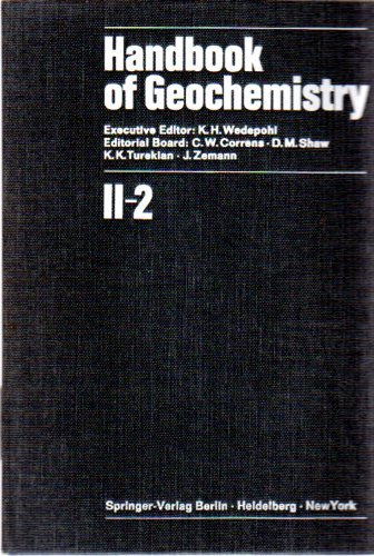9783540048404: Handbook of Geochemistry /2: Wedepohl,K.H.(Eds):Hdbk Geochem.  Vol 2 (closed) /2: Elements Si (14) to V (23): Part 2 (Handbook of Geochemistry / Wedepohl, K.H.(Eds): Hdbk Geochem)