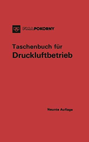 9783540050247: Taschenbuch für Druckluftbetrieb