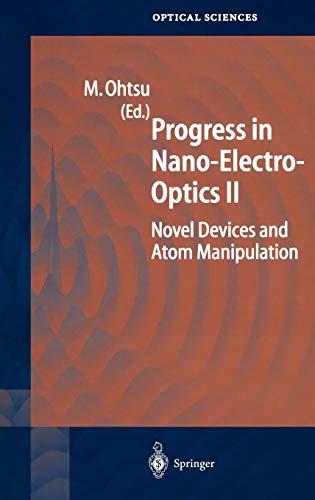 9783540050421: Progress in Nano-Electro-Optics II