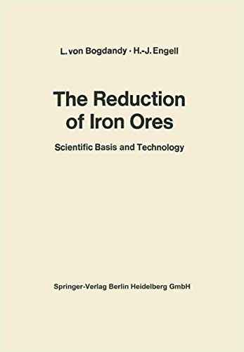 9783540050568: The Reduction of Iron Ores: Scientific Basis and Technology