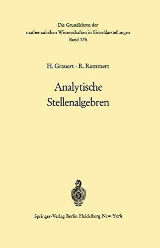 Analytische Stellenalgebren: Grauert, H.