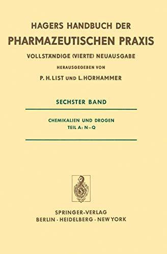 Hagers Handbuch der pharmazeutischen Praxis für Apotheker,: List, P.H. und