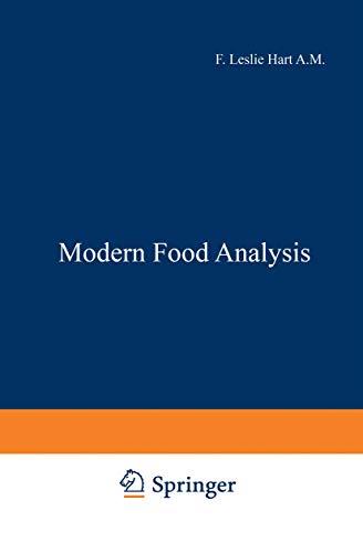 Modern Food Analysis: L. Hart, Frank