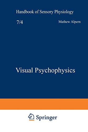 9783540051466: Visual Psychophysics (Handbook of Sensory Physiology)