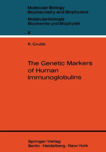 The Genetic Markers of Human Immunoglobulins. (Molecular: Rune E. Grubb