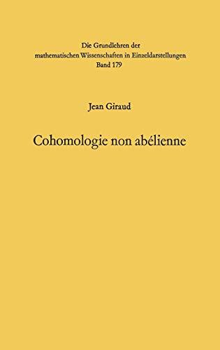 9783540053071: Cohomologie non abelienne (Grundlehren der mathematischen Wissenschaften) (French Edition)