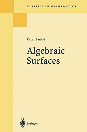9783540053354: Algebraic Surfaces (Ergebnisse der Mathematik und ihrer Grenzgebiete. 2. Folge)