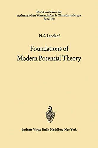 9783540053941: Foundations of Modern Potential Theory (Grundlehren der mathematischen Wissenschaften)
