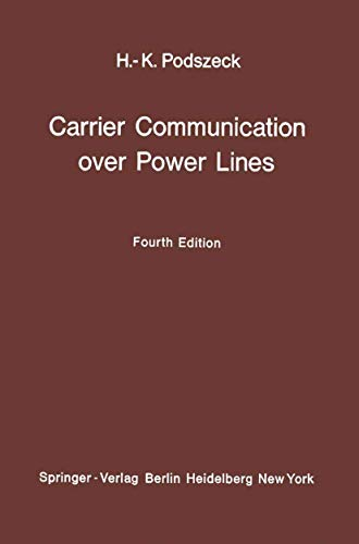9783540056911: Carrier Communication over Power Lines