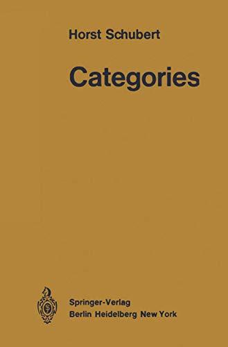 9783540057833: Categories