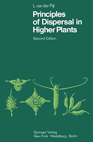 Principles of Dispersal in Higher Plants: Pijl, L Van