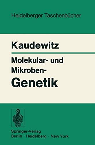 9783540060246: Molekular- und Mikroben-Genetik (Heidelberger Taschenbücher) (German Edition)