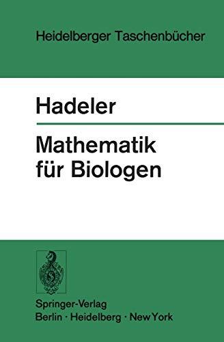 9783540062363: Mathematik für Biologen (Heidelberger Taschenbücher)