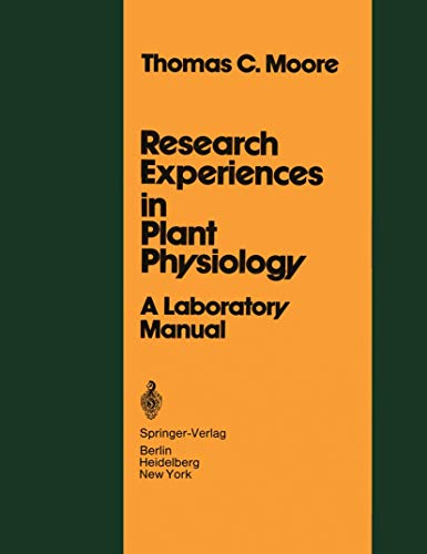 Research Experiences in Plant Physiology: A Laboratory