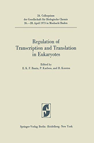 Regulations of Transcription and Translation in Eukaryotes
