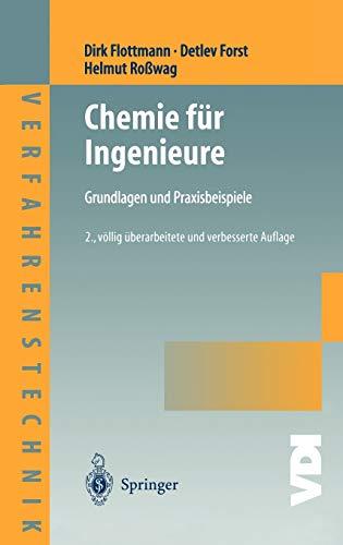 9783540065135: Chemie für Ingenieure: Grundlagen und Praxisbeispiele (VDI-Buch / Chemische Technik / Verfahrenstechnik)
