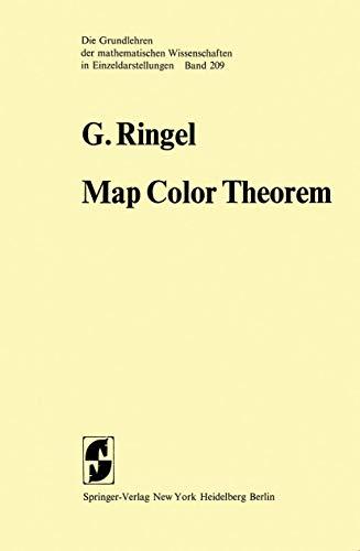 9783540065487: Map Color Theorem (Grundlehren der mathematischen Wissenschaften)