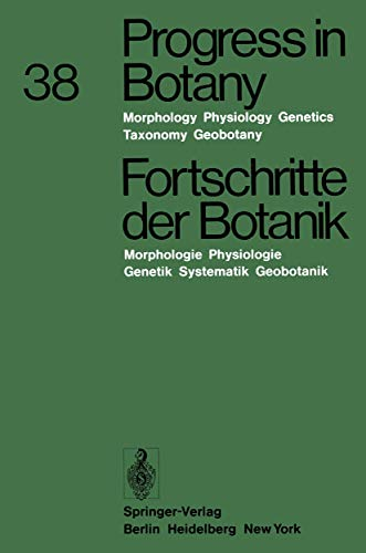 Progress in Botany 38 (English and German Edition) Ellenberg, Heinz H.; Esser, Karl; Merxmuller, ...