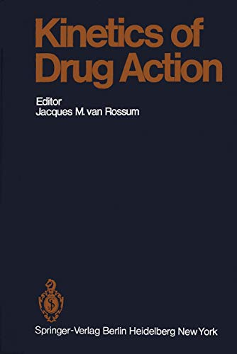 9783540080237: Kinetics of Drug Action (Handbook of Experimental Pharmacology)