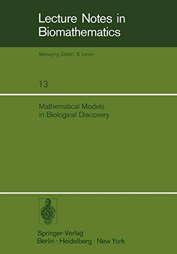 9783540081340: Mathematical Models in Biological Discovery (Lecture Notes in Biomathematics)