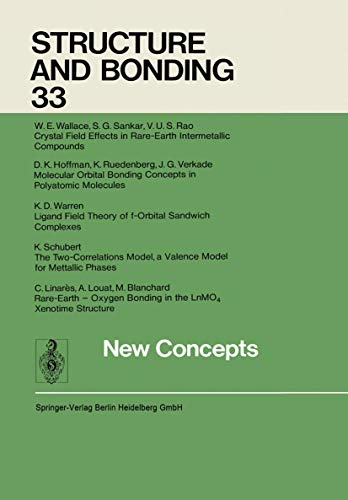 New Concepts (Structure and Bonding): W. E. Wallace;