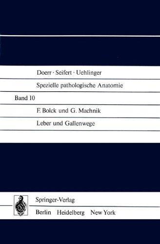 9783540083047: Leber und Gallenwege (Spezielle pathologische ...