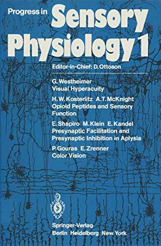 Visual Hyperacuity / Opioid Peptides and Sensory: Ottoson, David [Ed.]: