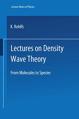 Lectures on Density Wave Theory.