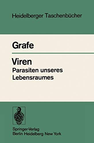 9783540084822: Viren Parasiten unseres Lebensraumes: Taschenbuch der Allgemeinen Virologie (Heidelberger Taschenbücher)