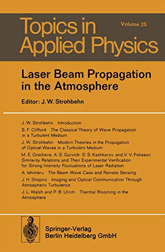 9783540088127: Laser Beam Propagation in the Atmosphere (Topics in Applied Physics)