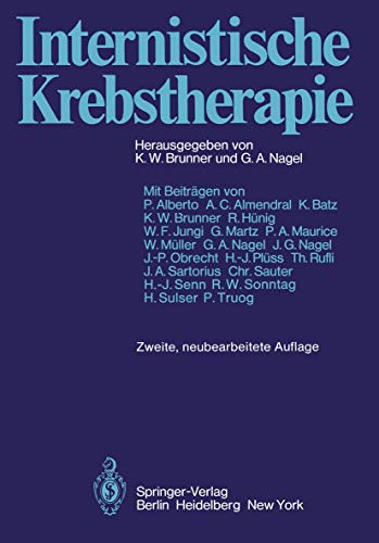 9783540092148: Internistische Krebstherapie