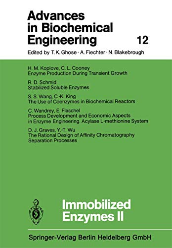 9783540092629: Immobilized Enzymes II (Advances in Biochemical Engineering/Biotechnology)