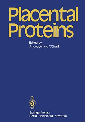 9783540094067: Placental Proteins