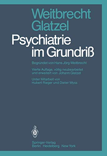 9783540094708: Psychiatrie im Grundriß