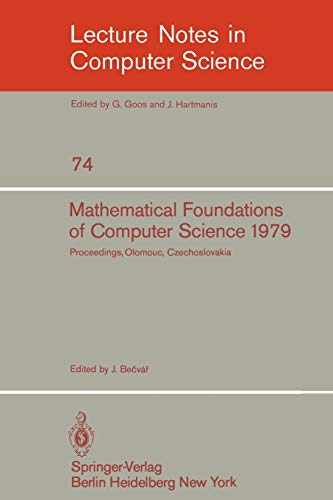 Mathematical Foundations of Computer Science 1979: 8th