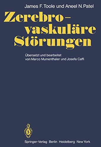 9783540096412: Zerebro-vaskuläre Störungen: Mit Kapiteln über ...
