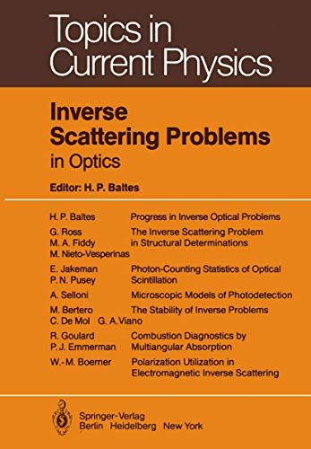 9783540101048: Inverse Scattering Problems in Optics (Topics in Current Physics)