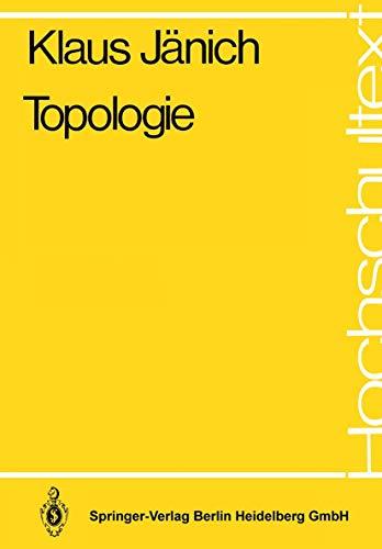 9783540101833: Topologie (Hochschultext)