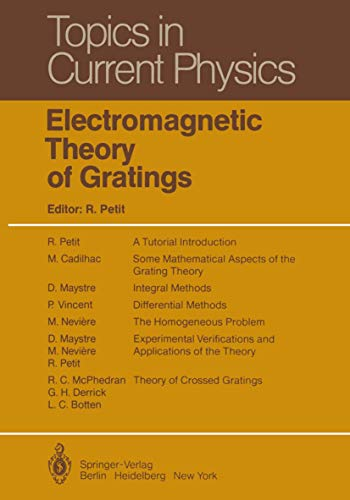9783540101932: Electromagnetic Theory of Gratings (Topics in Current Physics)