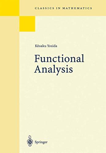 9783540102106: Functional Analysis (Grundlehren der mathematischen Wissenschaften)