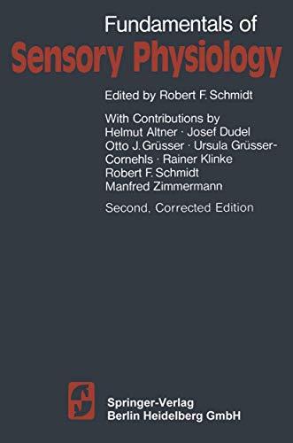 9783540103493: Fundamentals of Sensory Physiology (Springer Study Edition)