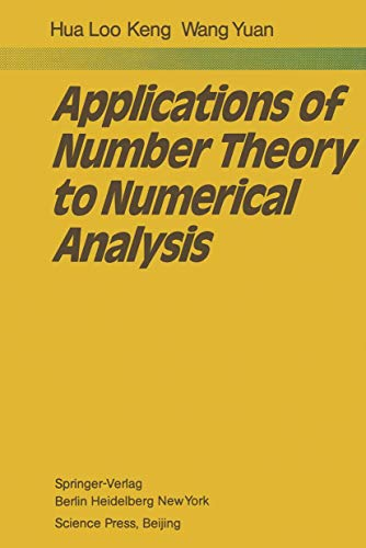 9783540103820: Applications of Number Theory to Numerical Analysis