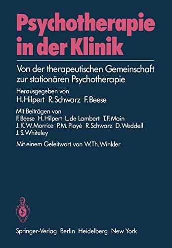 Psychotherapie in der Klinik: H. Hilpert (editor),
