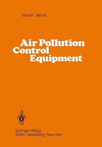 9783540104636: Air Pollution Control Equipment